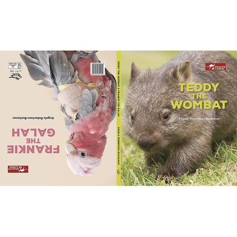 Teddy the Wombat/Frankie the Galah Children's Book