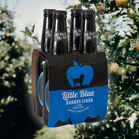 Little Blue Non-alcoholic Cider - 4 Pack