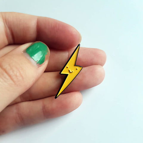 Lightning Bolt Badge
