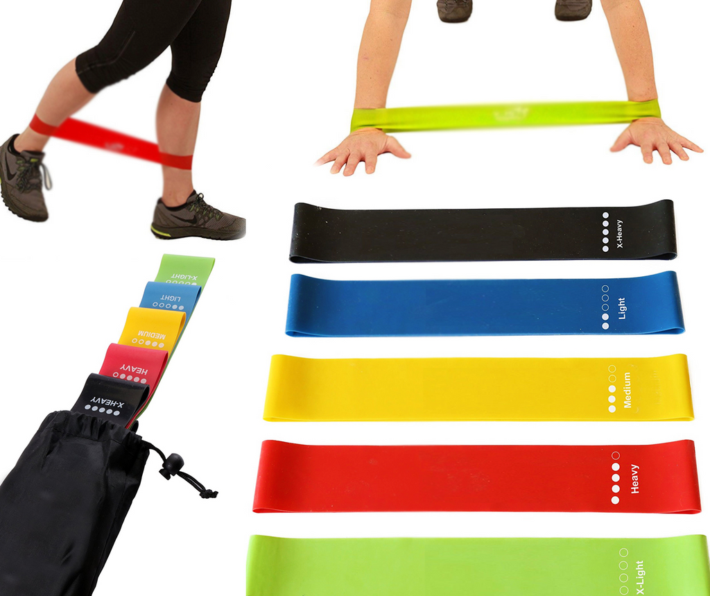 "Resistance Loop Bands (5 Bands in each order) 12"" x 2 1/2"""