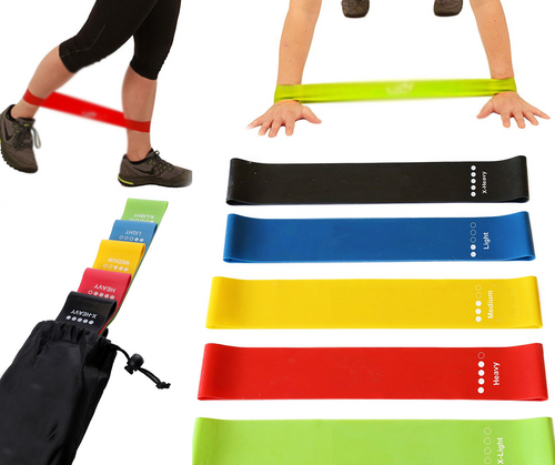 Resistance Loop Bands (5 Bands in each order) 12
