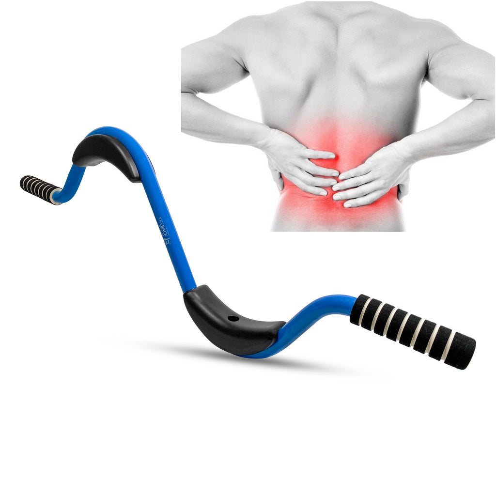 The Back Pedal - relieve back pain, sciatica pain relief, hip pain, back support, lumbar support, back brace and strengthening