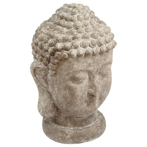 TETE BOUDDHA CIMENT H40 ATMOSPHERA