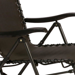 FAUTEUIL RELAX GRIS ANTHRACITE HESPERIDE