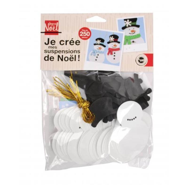 KIT SUSPENSIONS BONHOMMES DE NEIGES
