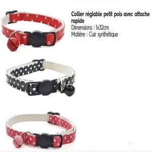 Collier chat PU