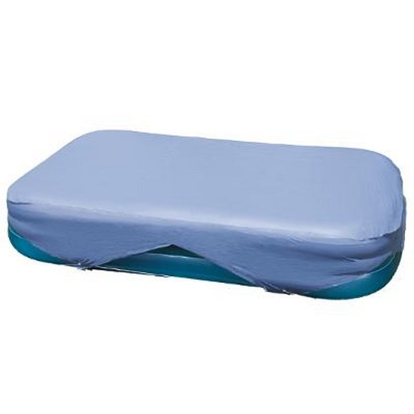 1- BACHE POUR PISCINE RECTANGLE 3.05 X 1.83 M