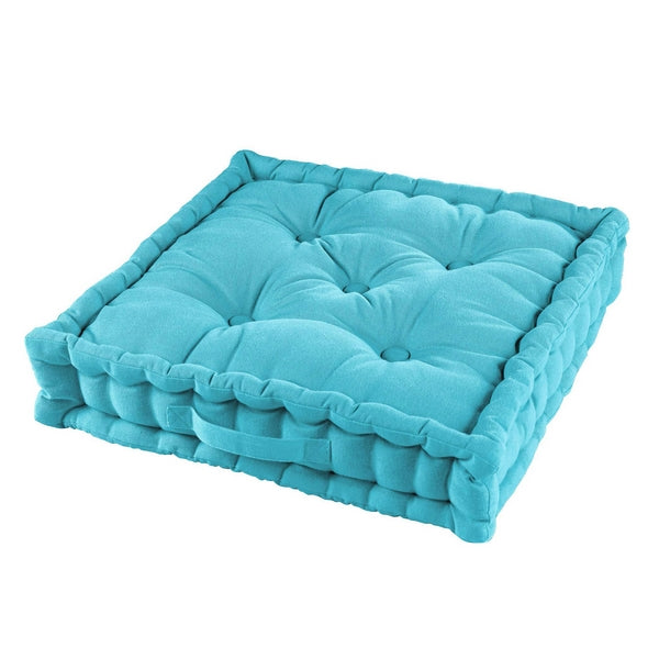 COUSSIN PANAMA TURQUOISE 60 X 60 X 10