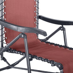 FAUTEUIL RELAX BORDEAUX ANTHRACITE HESPERIDE