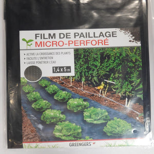 FILM DE PAILLAGE MICRO PERFORE 1.4 x 5 m