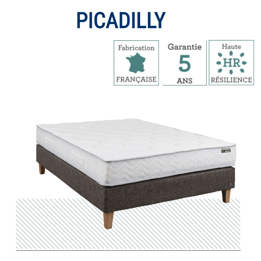 MATELAS PICADILLY 90 x 190 1 PERSONNE