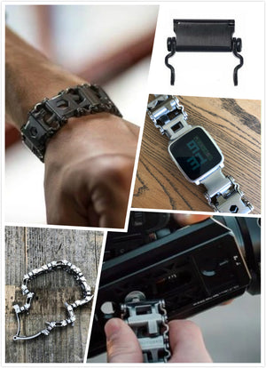 29 In 1 Multi-Tool Wearable Stainless Steel Bracelet