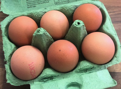 Large Free Range Eggs - pack of 6
