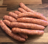 Free Range Pork & Tomato Sausage (500g) approx 8 links