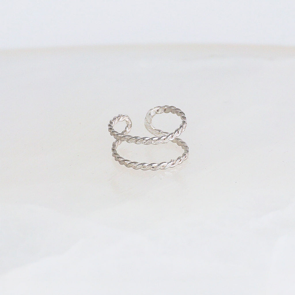 Double Braided Midi Ring