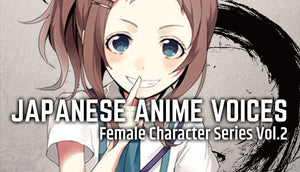 Japanese Anime Voices:Female Character Series Vol.2