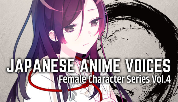 Japanese Anime Voices:Female Character Series Vol.4