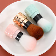 Retractable Travel Makeup Brush Set 3Pcs/set