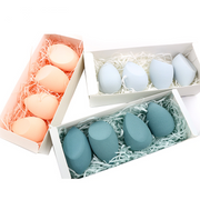 Beauty Egg Combination Cosmetic Puff Sponge Beauty To Make Up Set