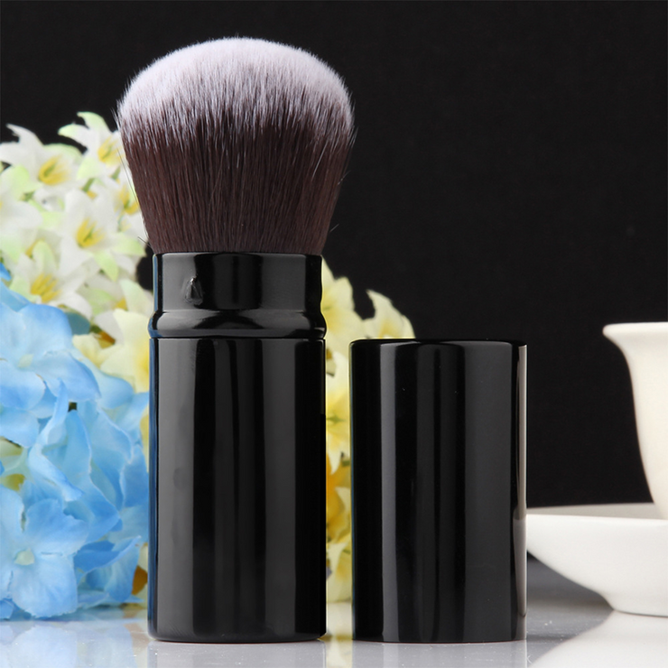 Retractable Makeup Brush Set 3Pcs/Set
