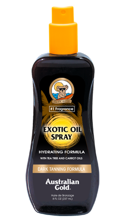 DARK TANNING EXOTIC OIL SPRAY