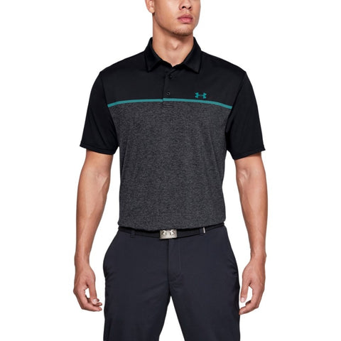 Playoff Polo 2.0-Black /  / Teal Rush