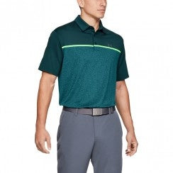Playoff Polo 2.0-Tandem Teal Green / Pitch Gray