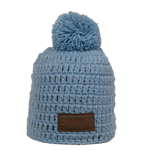 Beanie daily life - Light Blue crochet ski hat