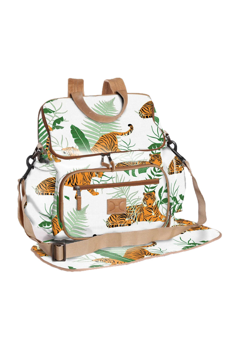 Baby Nappy Backpack Laminated Fabric