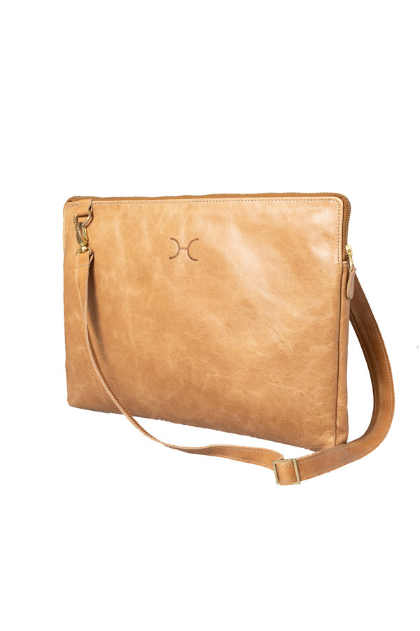 "Thandana - 15"" Goldie Laptop Sling Leather"