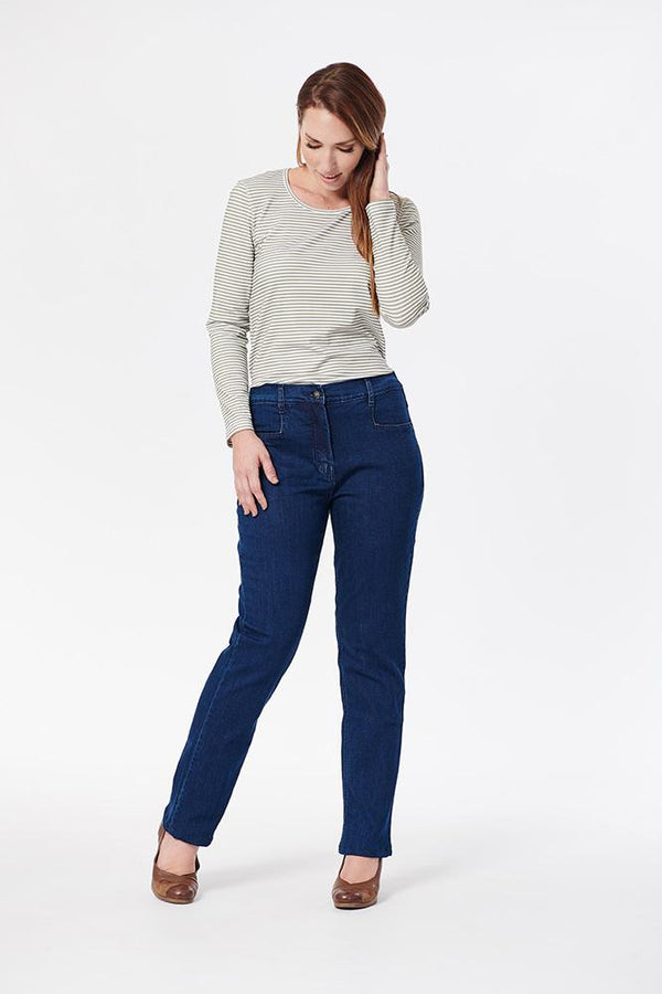 Barrington - Annika Side Elastic Jeans