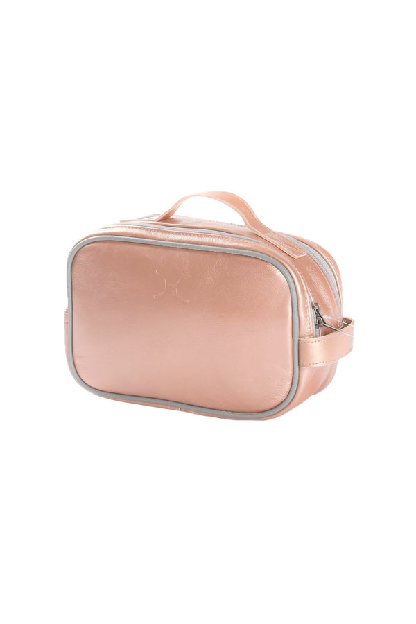 Unisex Vanity Metallic Leather