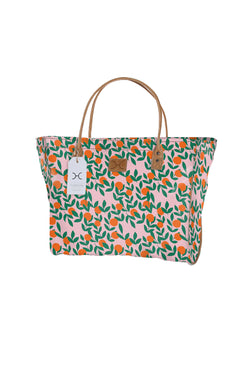 Utility Shopper Bag Laminated Fabric