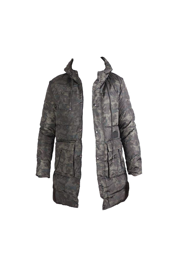 Combat Hooded Puffer Coat