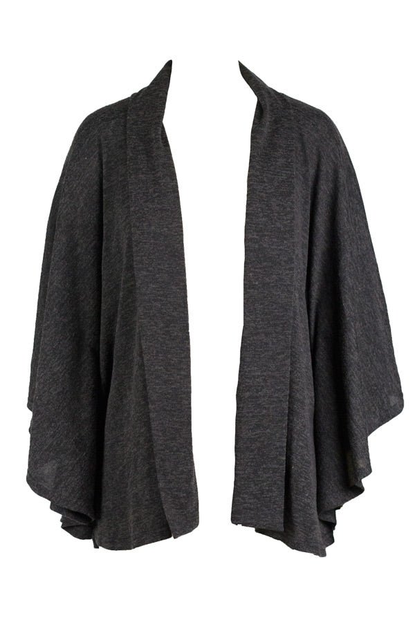 Miss Moneypenny - Charcoal Cardigan