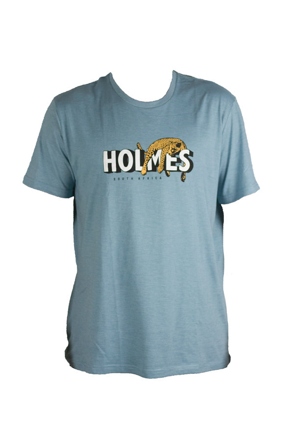 Holmes Brothers - Lazy Cat Tee Smoke Blue