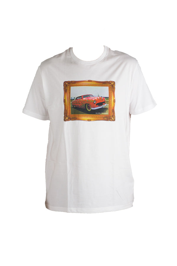 Holmes Brothers - Gold Frame Hotrod Tee