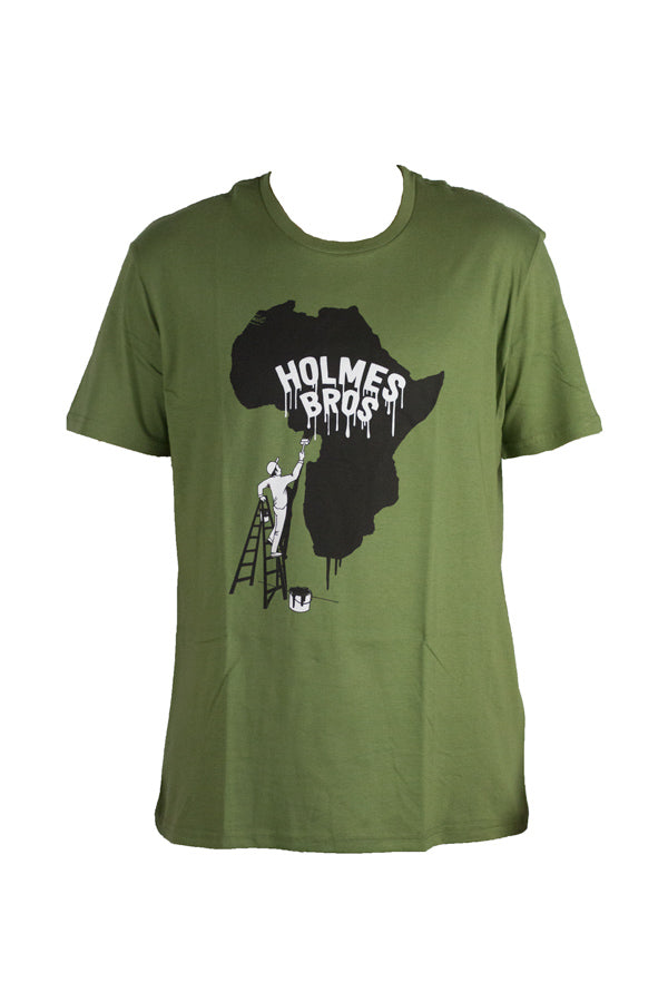 Holmes Brothers - Holmes Paint Africa Tee Olive