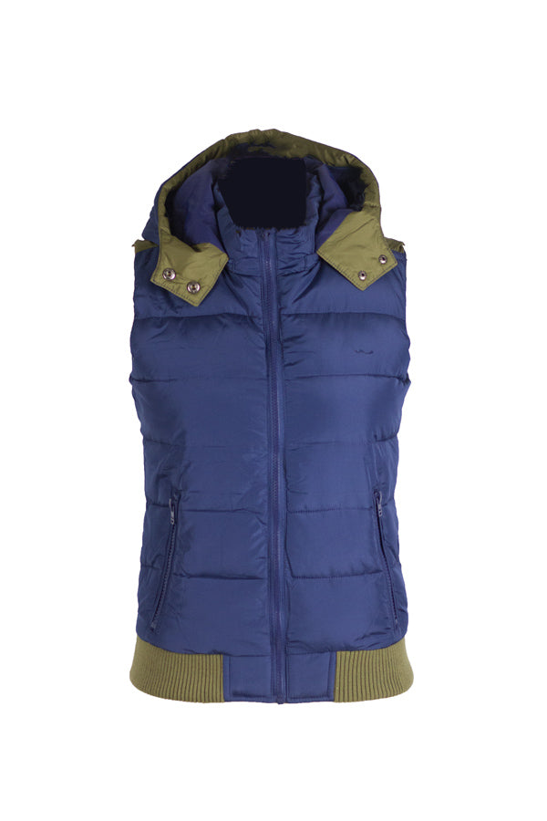 Downtown - Hooded Puffer Vest