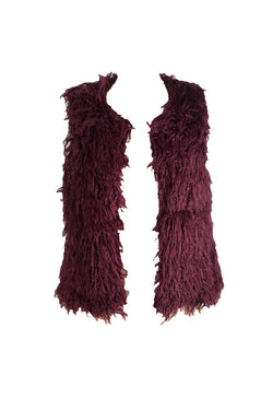 Downtown - Faux Fur Fluffy Gilet