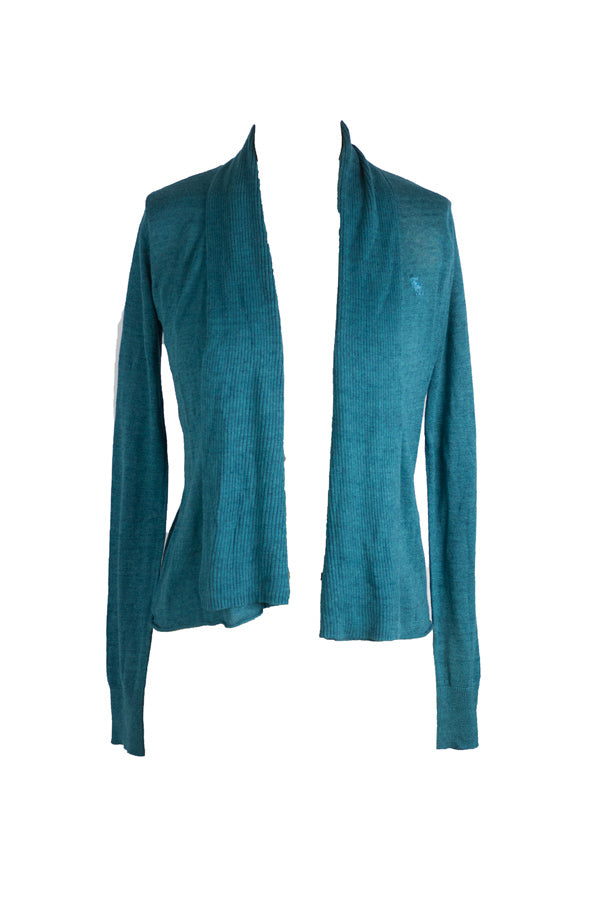 Downtown - A&F Teal Cardigan