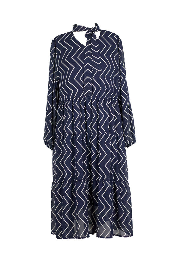 Zig-Zag Bethany Dress