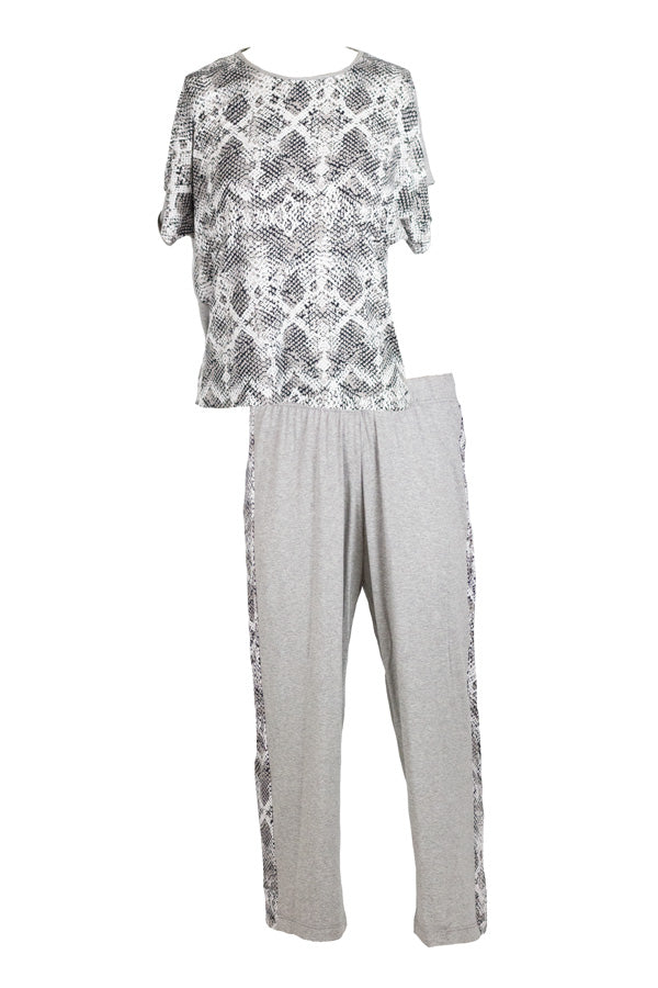 Full Cream - Soft & Comfy Snake PJ Set