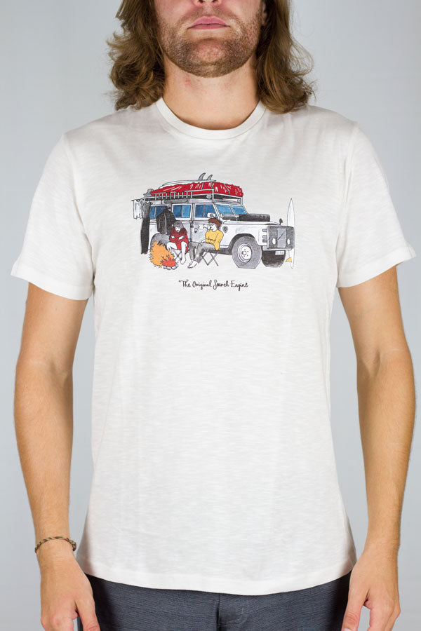 Holmes Brothers - Search Tee White