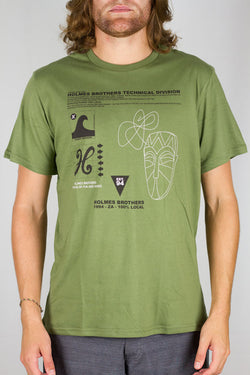 Technical Tee Olive