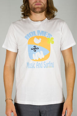 Music & Surfing White