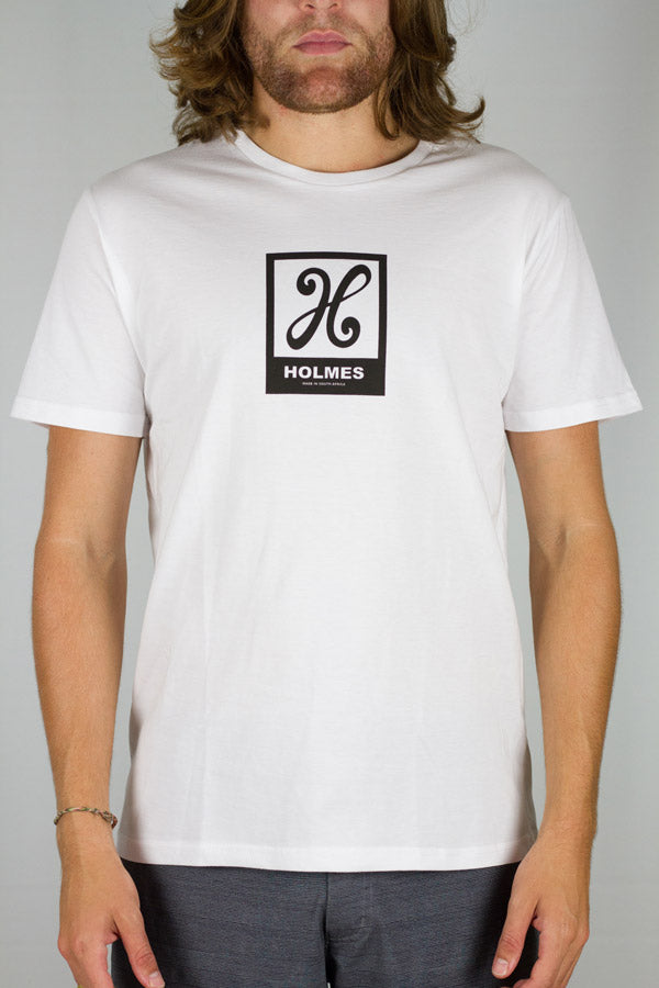 Holmes Brothers - Icon Square Tee White