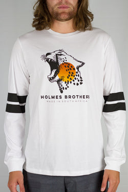Holmes Brothers - Sunset Cheetah LS White