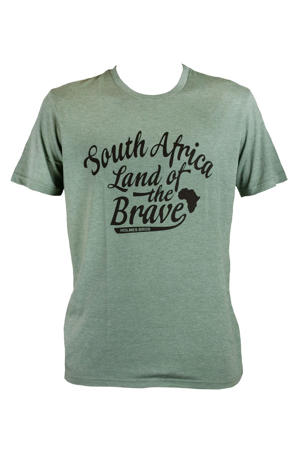 Holmes Bros - Land Of The Brave Tee