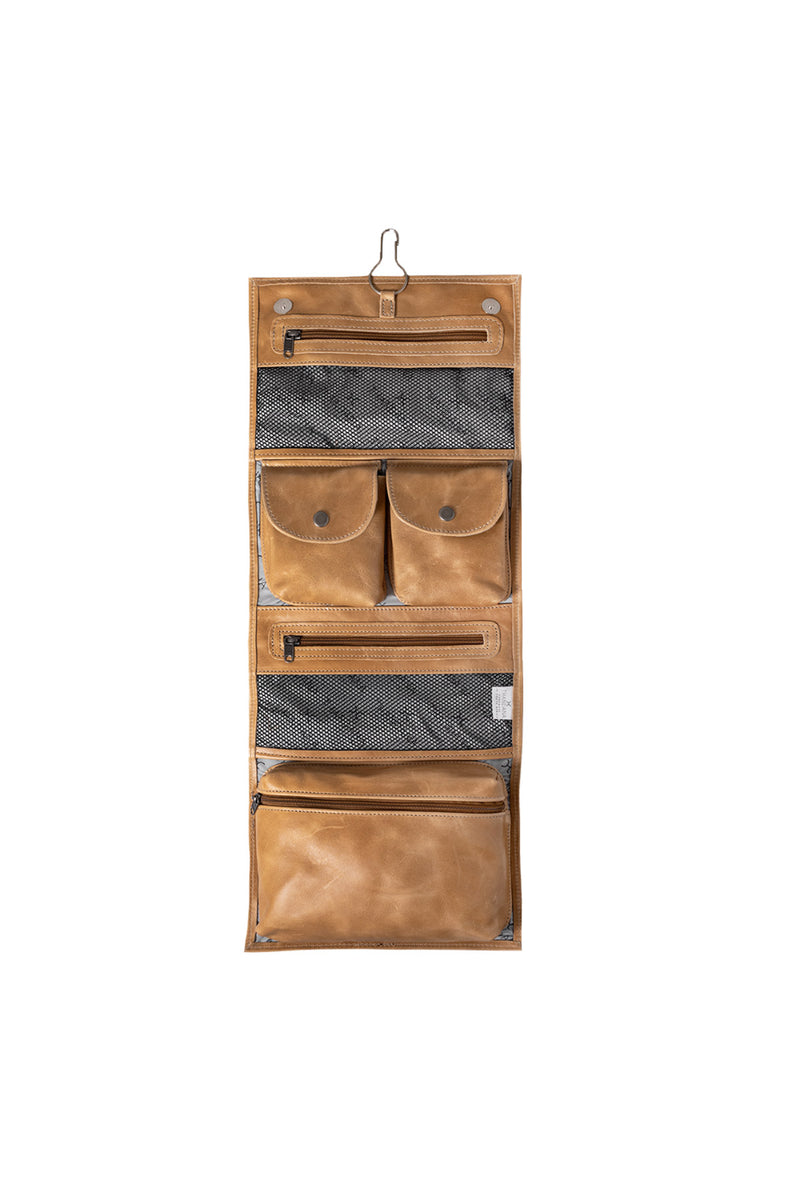 Thandana - Roll Up Toiletry Leather